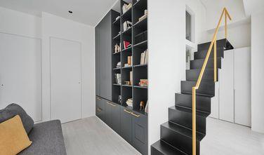 110平米三室一厅现代简约风格楼梯间欣赏图