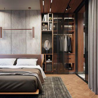 70平米一室一厅英伦风格卧室装修效果图