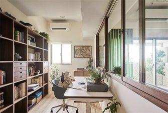 120平米三日式风格书房装修图片大全