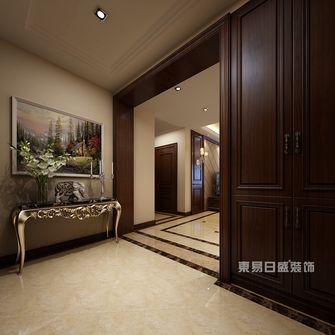 120平米三室两厅新古典风格玄关装修图片大全
