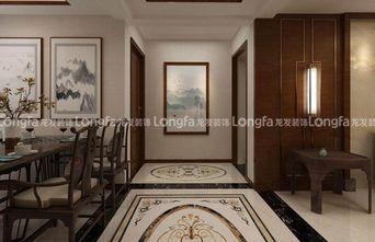 130平米三中式风格走廊装修图片大全