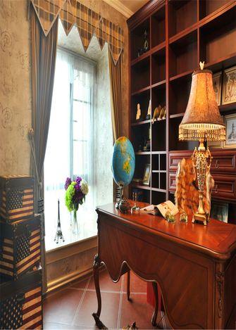 140平米三室三厅新古典风格书房装修效果图