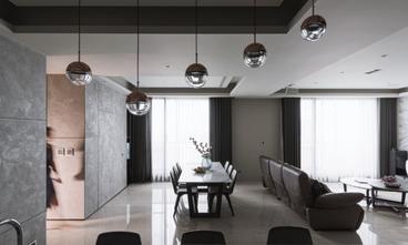 140平米三室三厅宜家风格餐厅图片