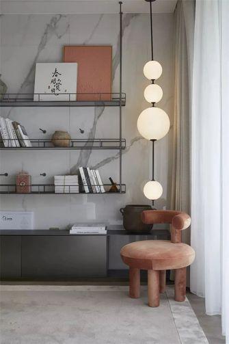140平米三室一厅中式风格书房欣赏图