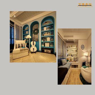 120平米三室两厅地中海风格儿童房图片