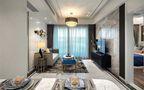 140平米四室一厅中式风格客厅图片