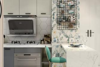 80平米公寓北欧风格厨房图片