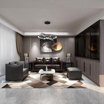 140平米三室两厅英伦风格客厅效果图