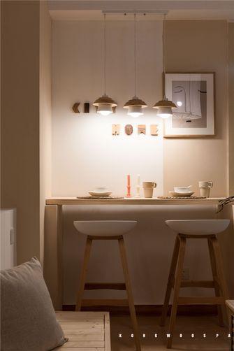 60平米一室一厅日式风格餐厅装修案例