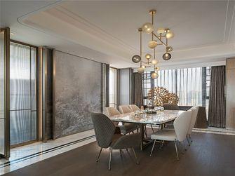 90平米三室两厅田园风格餐厅效果图