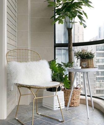 140平米四室两厅新古典风格阳台装修效果图