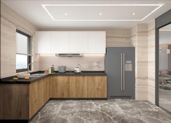 100平米现代简约风格厨房效果图