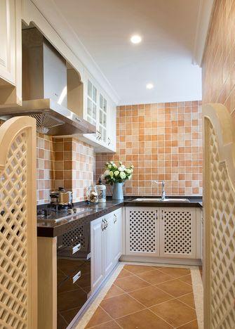 140平米三室两厅地中海风格厨房装修图片大全