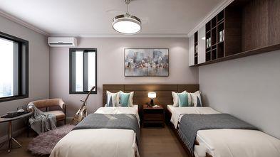 50平米一室两厅现代简约风格卧室图片