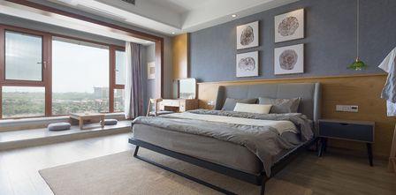 15-20万110平米三室三厅日式风格卧室设计图
