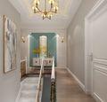 140平米复式美式风格楼梯间装修图片大全