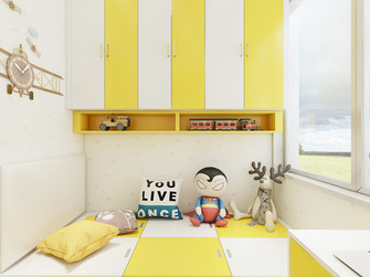 现代简约风格儿童房装修案例