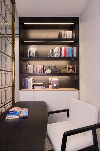120平米三现代简约风格书房装修图片大全