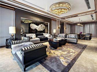 80平米新古典风格客厅欣赏图
