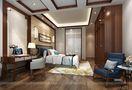 140平米四室四厅中式风格卧室装修案例