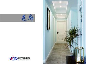 富裕型120平米三室一厅北欧风格走廊图片
