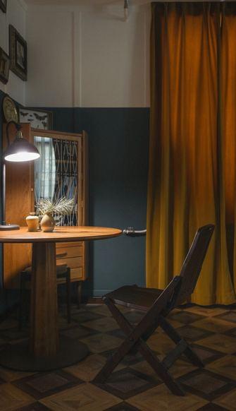 50平米公寓新古典风格餐厅图