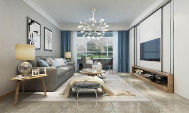 110平米三室两厅欧式风格客厅欣赏图
