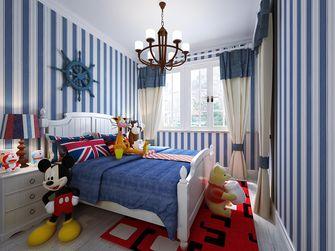100平米三室一厅地中海风格儿童房装修效果图