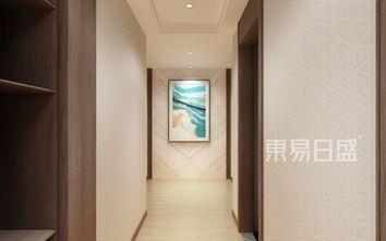 140平米四中式风格玄关图片大全