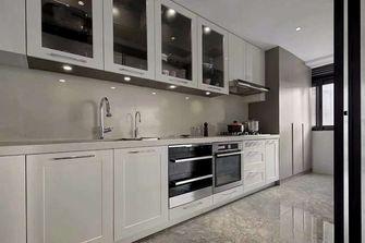 110平米三室一厅现代简约风格厨房图片大全