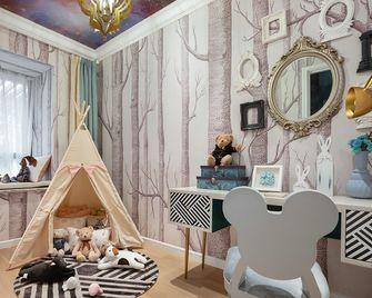 100平米三室两厅英伦风格儿童房设计图