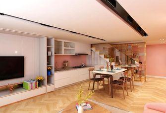 60平米一居室新古典风格餐厅设计图