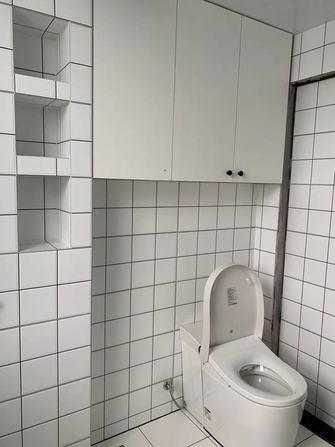 30平米以下超小户型北欧风格卫生间装修效果图