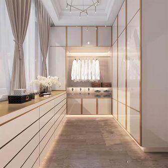 130平米三室两厅混搭风格衣帽间图片