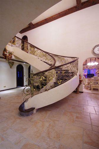 豪华型140平米别墅地中海风格楼梯图