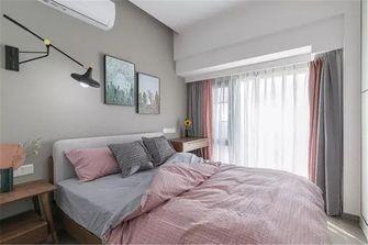 70平米北欧风格卧室欣赏图