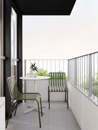 120平米三室两厅现代简约风格阳台图