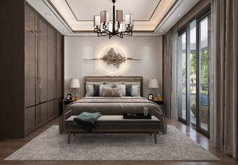 140平米四室四厅中式风格卧室图