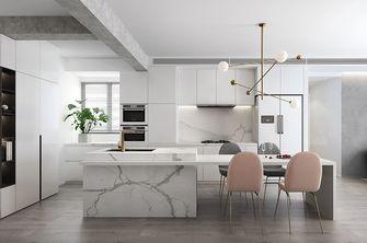 110平米三室两厅现代简约风格厨房家具欣赏图