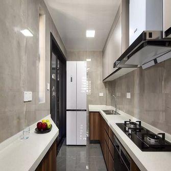 130平米三现代简约风格厨房设计图