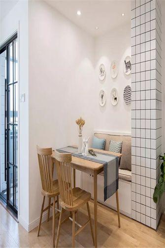 100平米三北欧风格餐厅设计图