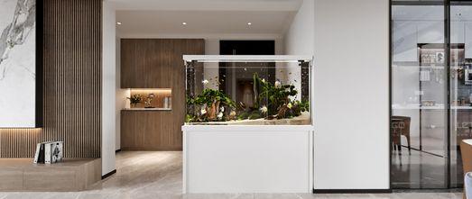 120平米三室三厅现代简约风格玄关装修案例