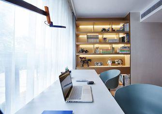 100平米三室两厅中式风格书房装修案例