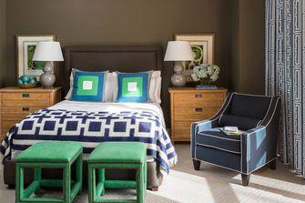 70平米一居室美式风格卧室设计图