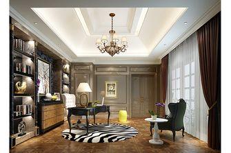 20万以上140平米别墅英伦风格书房图片大全