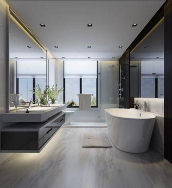120平米别墅日式风格卫生间图片