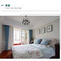 110平米三室两厅日式风格卧室图片大全