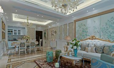 120平米四室两厅法式风格客厅图片大全