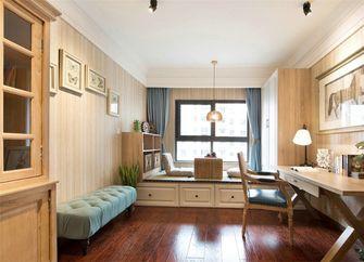 140平米三室两厅英伦风格书房图