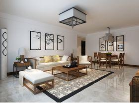 140平米三室兩廳中式風格客廳效果圖